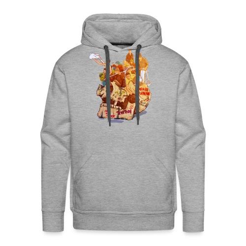 Skull & Refugees - Men's Premium Hoodie