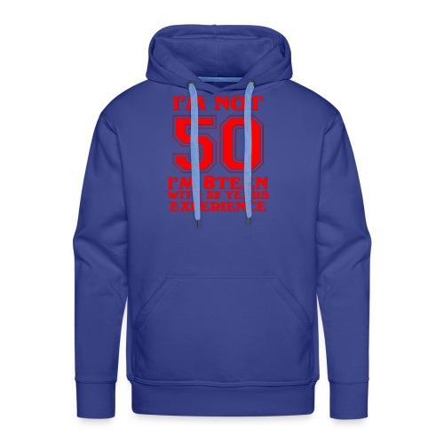 8teen red not 50 - Men's Premium Hoodie