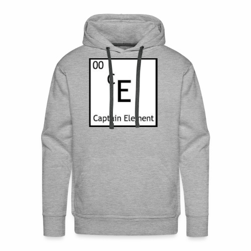 Captain Element Logo - Men's Premium Hoodie