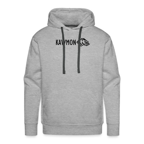 Kawmon Athleisure Gym Apparel Chest Logo - Men's Premium Hoodie