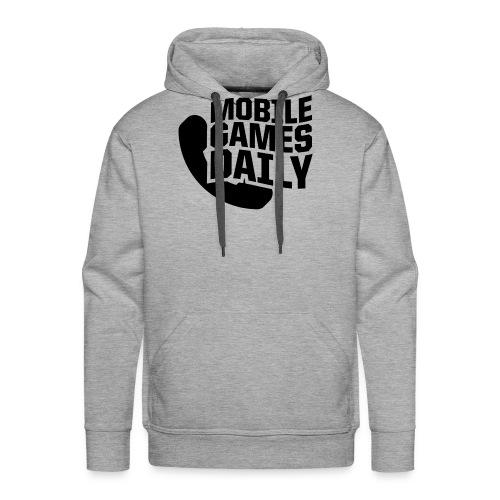 MGDLogo black - Men's Premium Hoodie