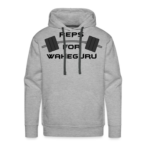 REPS FOR WAHEGURU - Men's Premium Hoodie