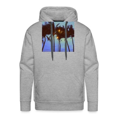 Palm Trees - Men's Premium Hoodie