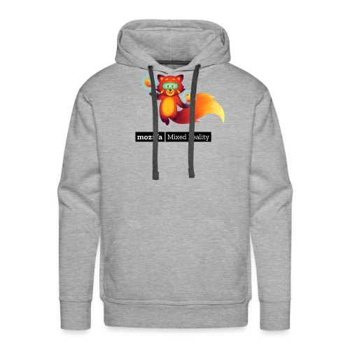 Foxr Floating (black MR logo) - Men's Premium Hoodie