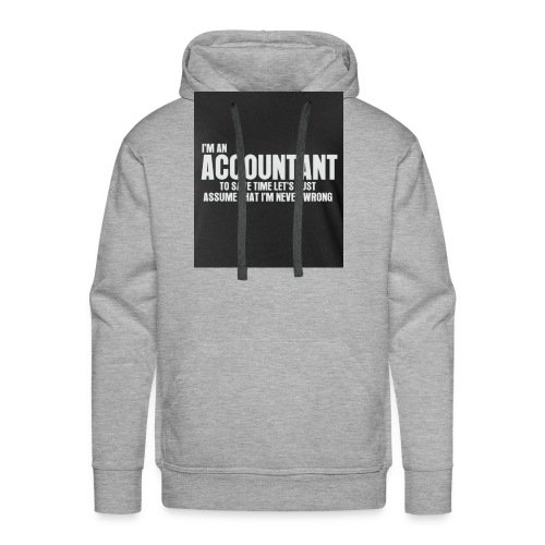 accountant - Men's Premium Hoodie