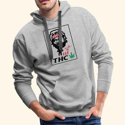 THC MEN - THC SHIRT - FUNNY - Men's Premium Hoodie