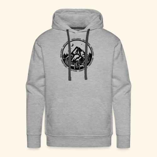 Bellingen Mountain Ranges - Men's Premium Hoodie