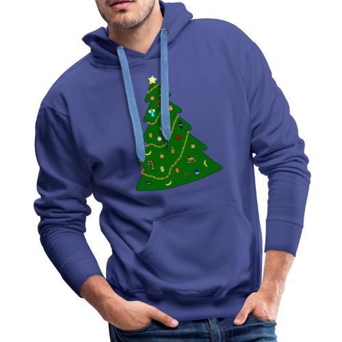 Christmas Tree For Monkey - Men's Premium Hoodie