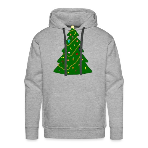 Christmas Tree For Monkey - Men's Premium Hoodie