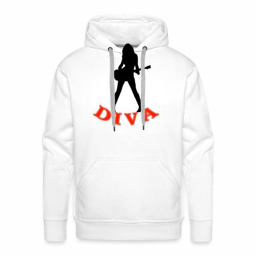 Rock Star Diva - Men's Premium Hoodie