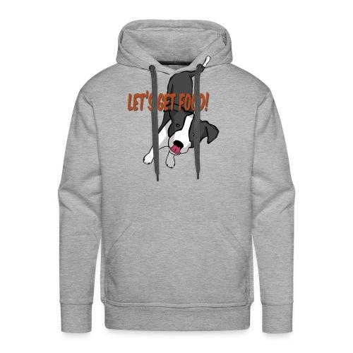 Foodie Dog Border Collie - Men's Premium Hoodie