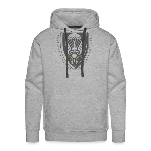 1er REP - Regiment - Badge - Dark - Men's Premium Hoodie