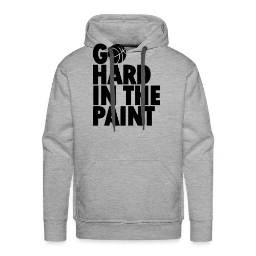 Go Hard In the Paint - Men's Premium Hoodie
