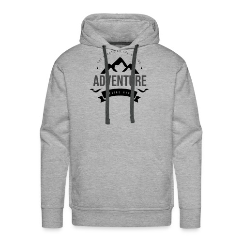 The mountains are calling T-shirt - Men's Premium Hoodie