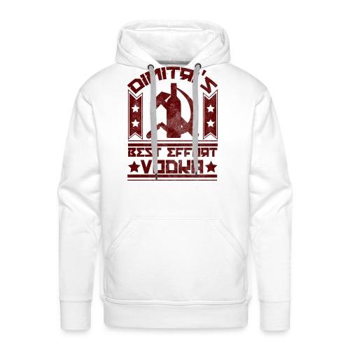 vodkavintagered - Men's Premium Hoodie