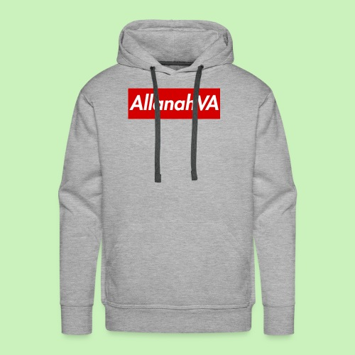 AllanahVA Supreme Red - Men's Premium Hoodie