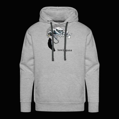 Lou Kelly - Hooligans Album Cover - Men's Premium Hoodie