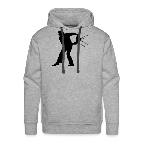 Chair Throwing Black - Men's Premium Hoodie