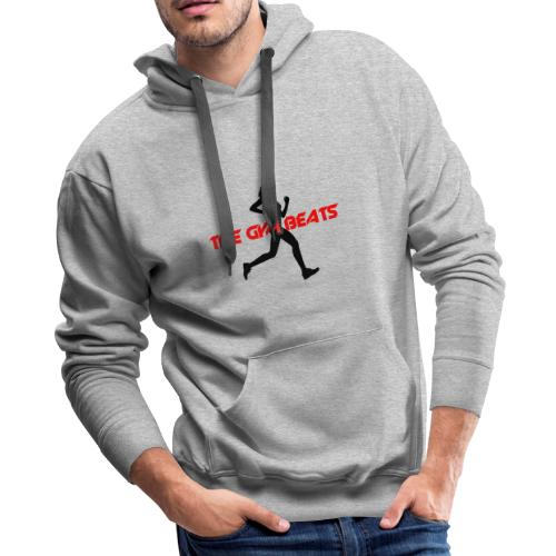 THE GYM BEATS - Music for Sports - Men's Premium Hoodie