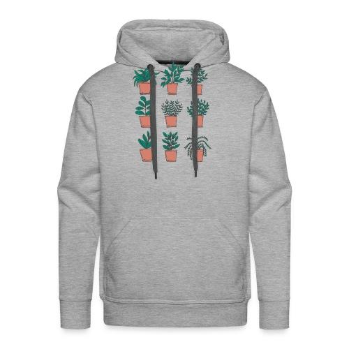 Flowerpots - Men's Premium Hoodie