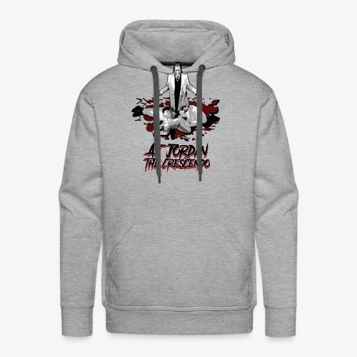 aj-hallelujah-tshirt-conc - Men's Premium Hoodie