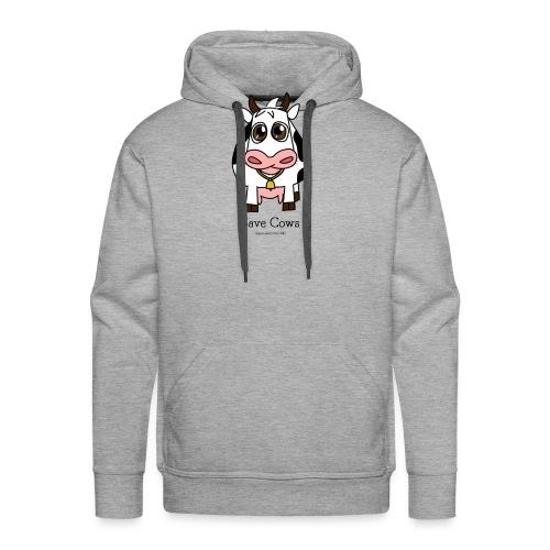 Save Cows - Men's Premium Hoodie