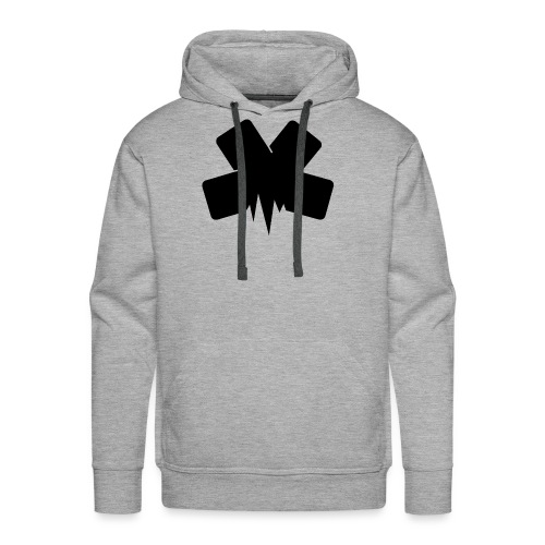 PixelSashay - Black Logo - Men's Premium Hoodie