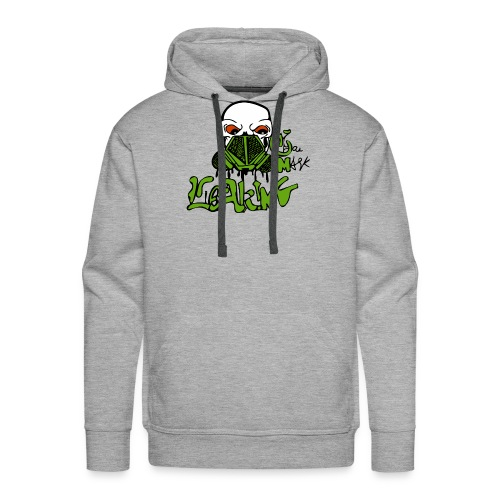 Leaking Gas Mask - Men's Premium Hoodie