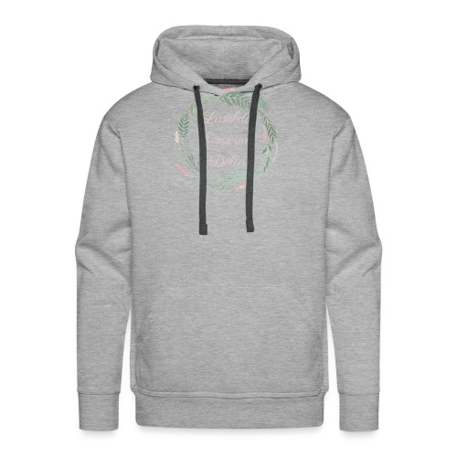 LOD Flower Wreath 1 - Men's Premium Hoodie