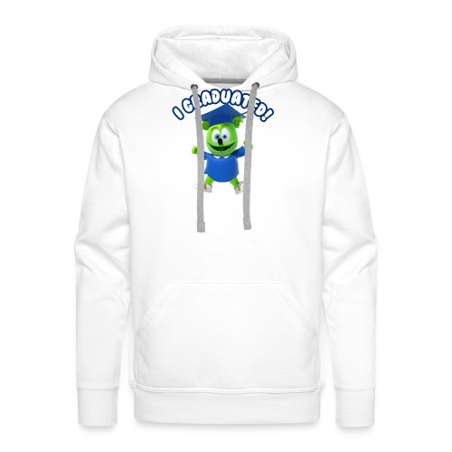 I Graduated! Gummibar (The Gummy Bear) - Men's Premium Hoodie