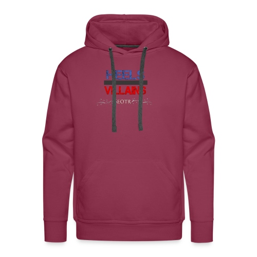 Eyes on the Ring Heels/Villains - Men's Premium Hoodie
