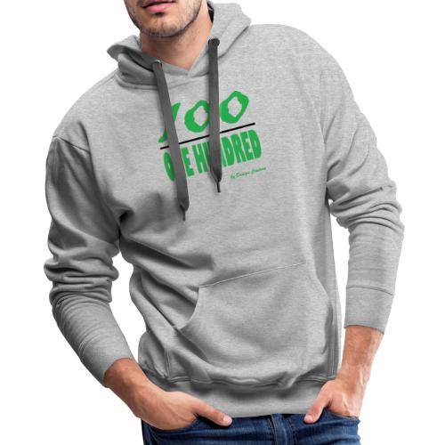 ONE HUNDRED GREEN - Men's Premium Hoodie