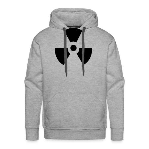 Radiation Symbol - Men's Premium Hoodie