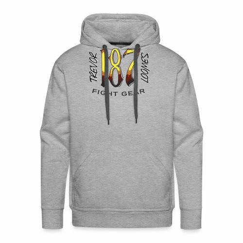 Coloured Trevor Loomes 187 Fight Gear Logo - Men's Premium Hoodie