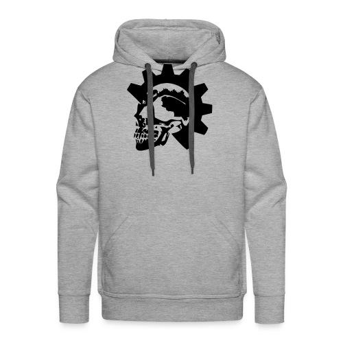 Gearhead Skull - Men's Premium Hoodie