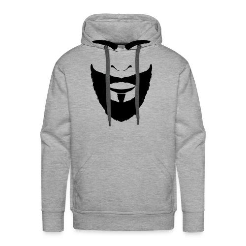 FACES_BEARD - Men's Premium Hoodie