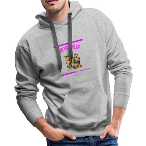 ARIES PINK - Men's Premium Hoodie