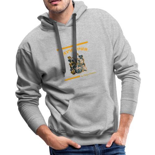 CAPRICORN ORANGE - Men's Premium Hoodie