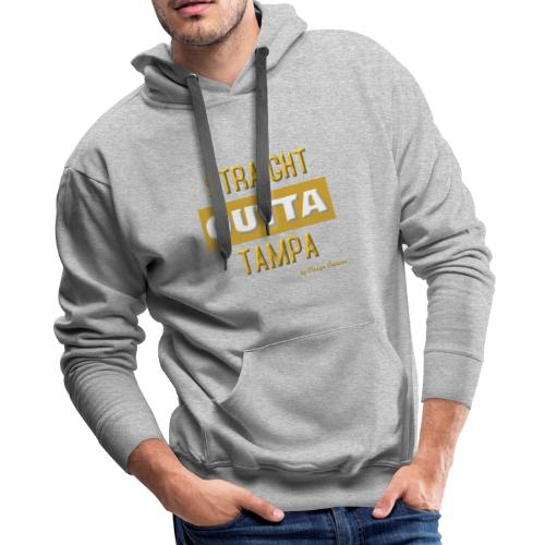 STRAIGHT OUTTA TAMPA GOLD - Men's Premium Hoodie
