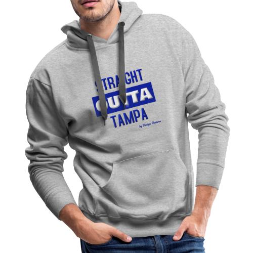 STRAIGHT OUTTA TAMPA BLUE - Men's Premium Hoodie