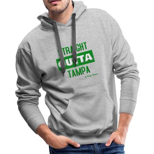 STRAIGHT OUTTA TAMPA GREEN - Men's Premium Hoodie