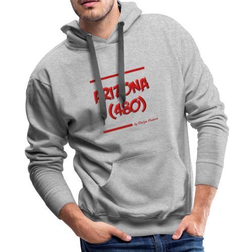 ARIZON 480 RED - Men's Premium Hoodie