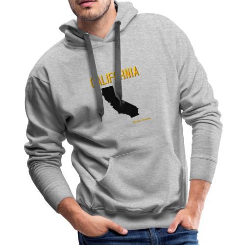 CALIFORNIA ORANGE - Men's Premium Hoodie
