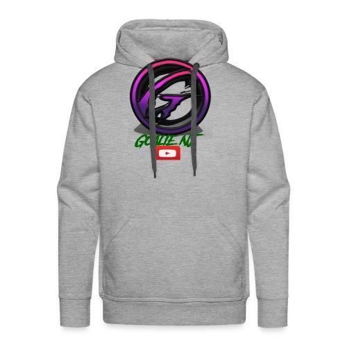 goalie nj logo - Men's Premium Hoodie