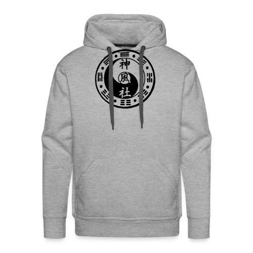 SWC LOGO BLACK - Men's Premium Hoodie