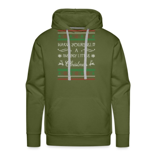 Have Yourself A Merry Little Christmas - Men's Premium Hoodie