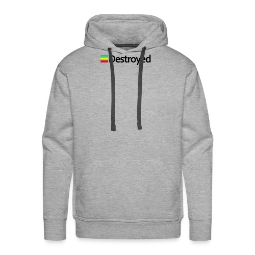 Polaroid Destroyed - Men's Premium Hoodie