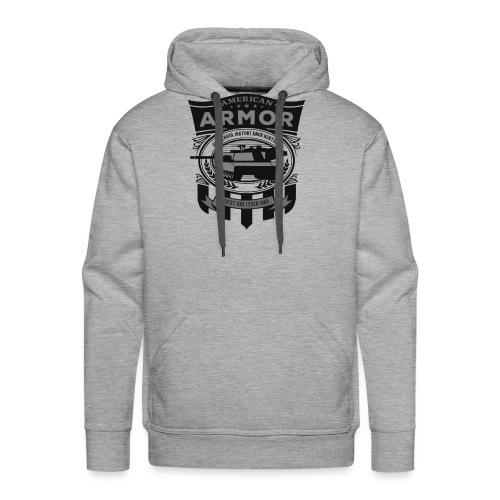 American Armor: Old School - Men's Premium Hoodie