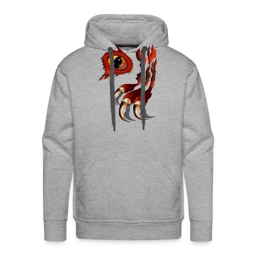 Red Dragon Hiding - Men's Premium Hoodie