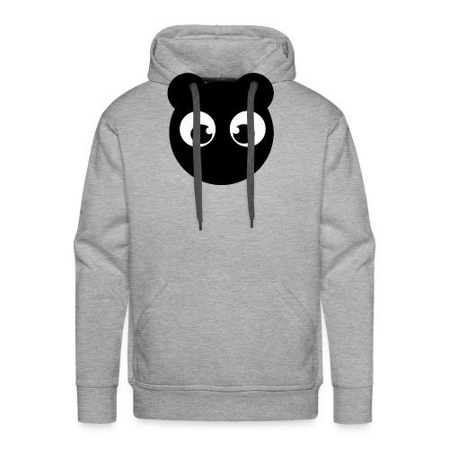 BearBun - Black - Men's Premium Hoodie
